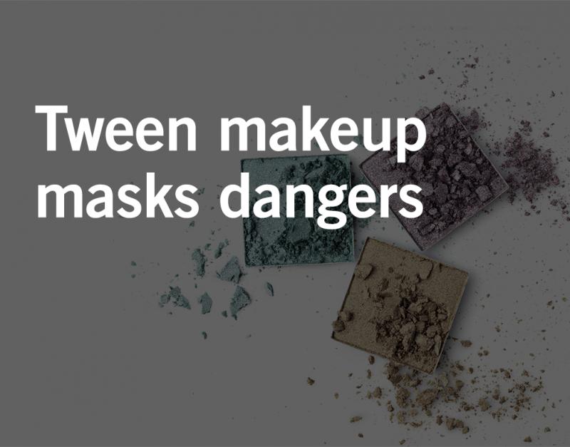 contaminated makeup