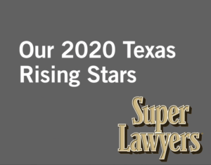 2020 Texas Rising Stars at Waters Kraus & Paul